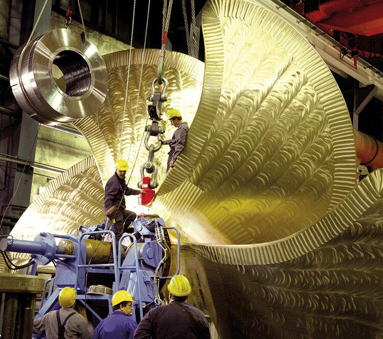 Matériel de levage et de manutention, chantier naval